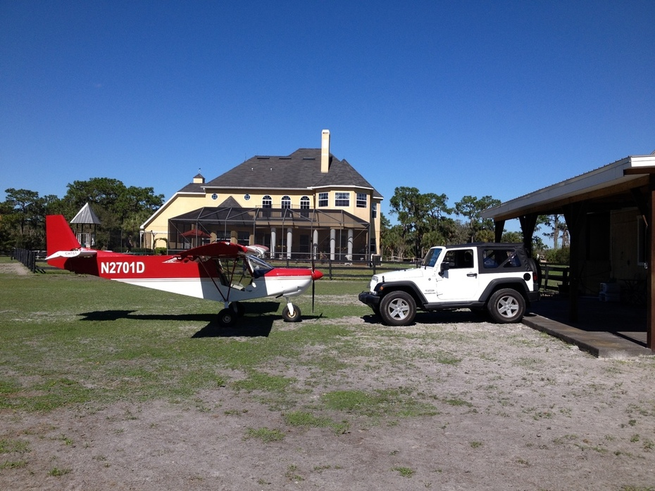 Sky Jeep meets Land Jeep