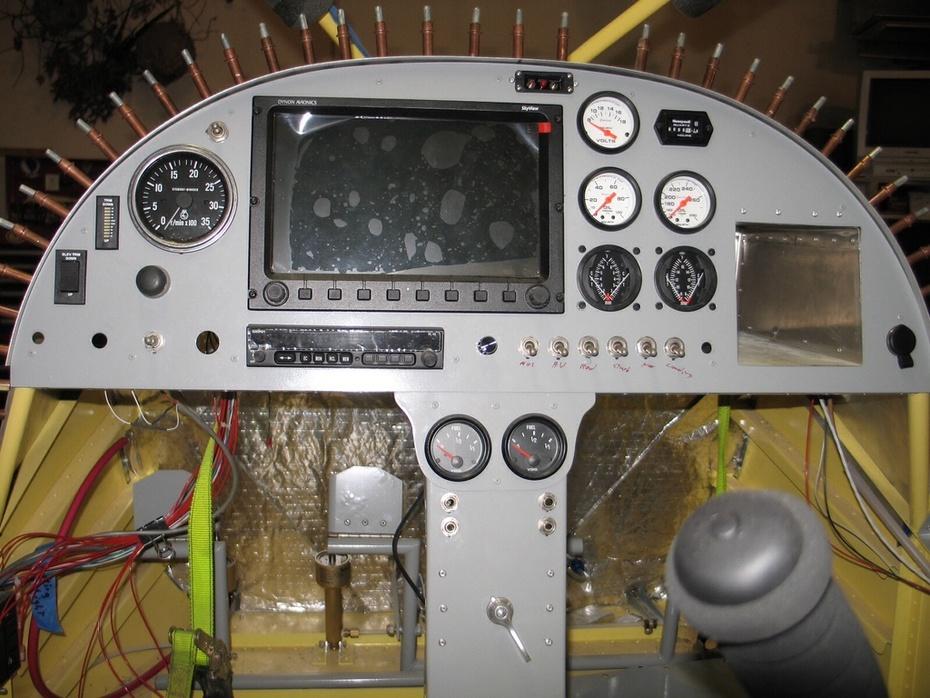 STOL CH 750 Instrument Panel