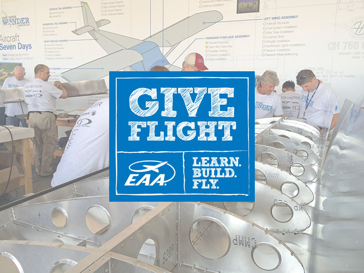 "EAA chapters to receive project Give Flight ""Zenith"" wings"