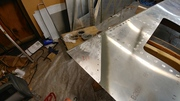 Rear Fuselage Bottom Skin Gusset