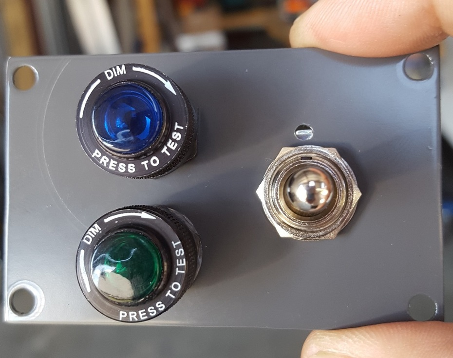 Gear switch and lights