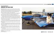 Gary Welch's Zenith CH 601 XLB in Sport Aviation magazine (December 2018)