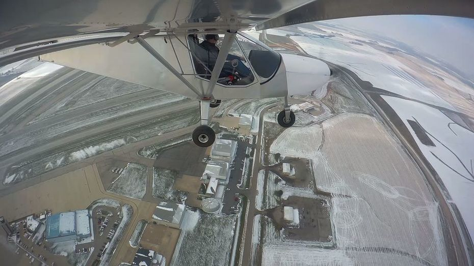 First Flight: Plans Built STOL CH 750