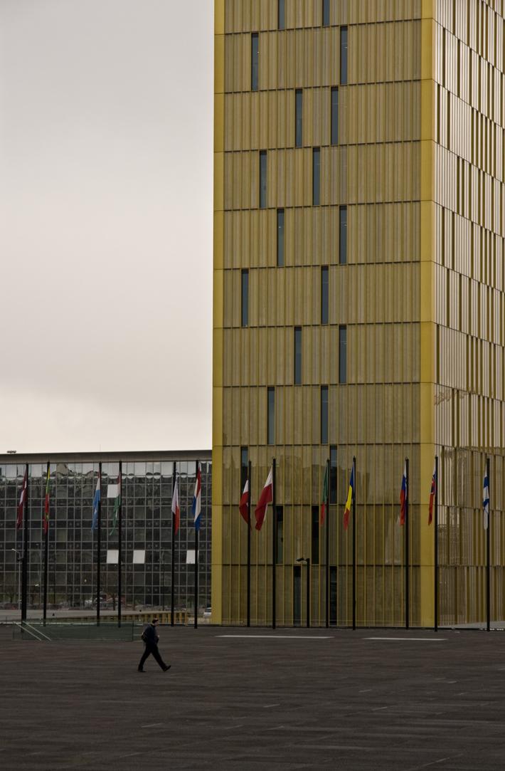 Λουξεμβούργο: Κτίρια ΕΕ