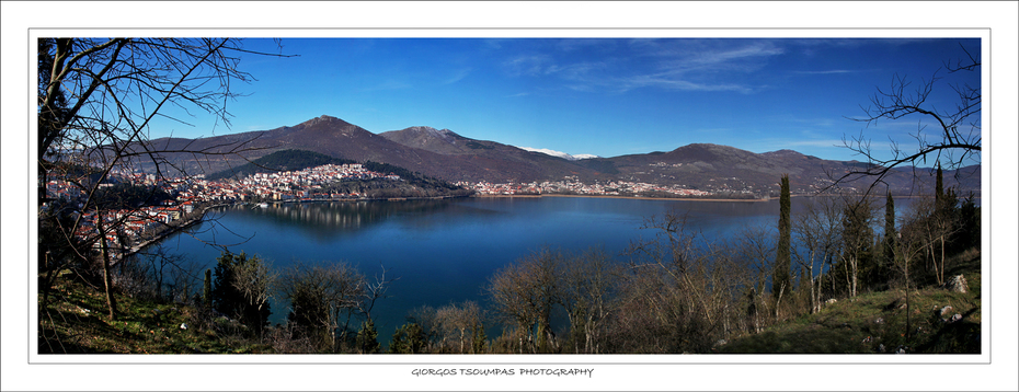 Panorama of Kastoria