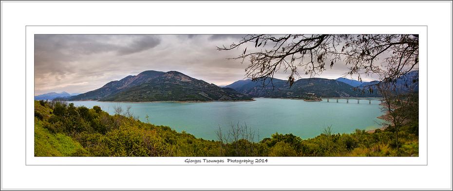 Πανοραμική λίμνης Κρεμαστών