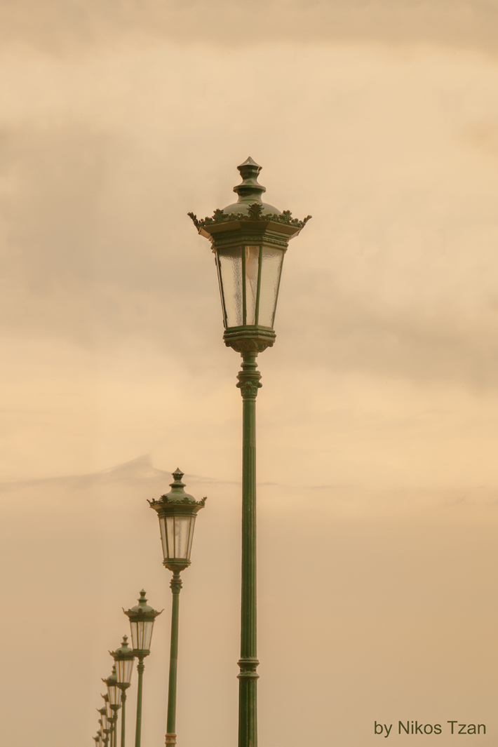 The old lights of heaven