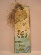 Birdie Inspired Bookmark