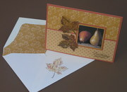 Fall Card with Matching Envelope