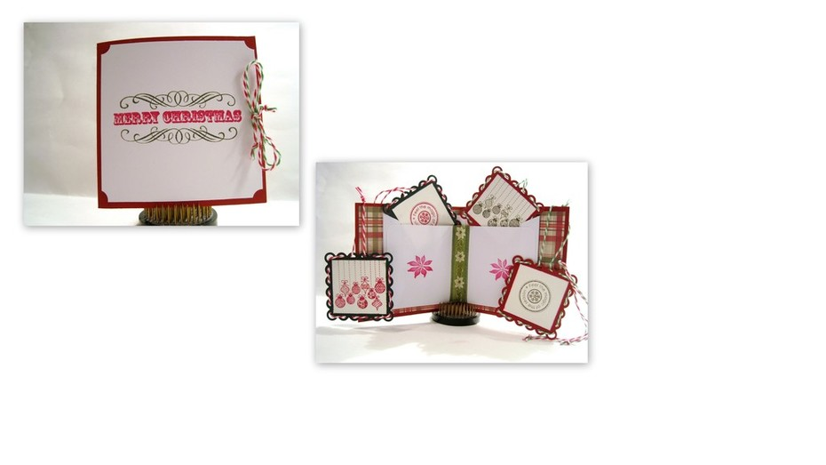 Merry Christmas Booklet & Tags