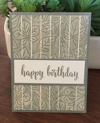 Carved Wood - World Card Making Day