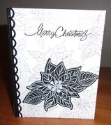 Black and White Holiday Card Three