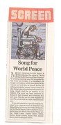 screen article on Peace Anthem