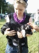 Kel with goat