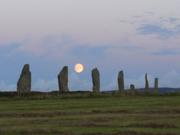 moon rise ring of brodgar myrna's pic
