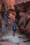 Stage 5- slot canyon