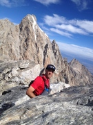 Eric on top of the Middle Teton