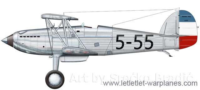 Hawker Fury, Yugoslavia