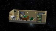 Part 1, Lego Noir Office, left view