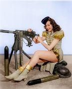 Anne Miller WW2 Pinup