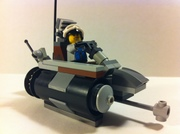 Post-apcolyptic Lego Turbine Motor bike
