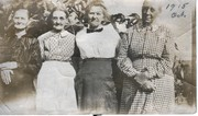 L to R, America,Katie, pos. Dora, Mary Turner Terry