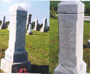 Grave of Jemima Dunkin And David  M. Shields