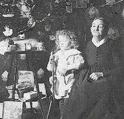 Lydia christmas circa 1900