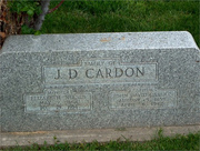John David Cardon and Elizabeth Neeser Cardon