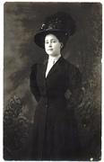 Jane Viola Moore Harrop posed