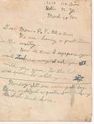 Letter Grandpa Bob Wrote to Family 1932