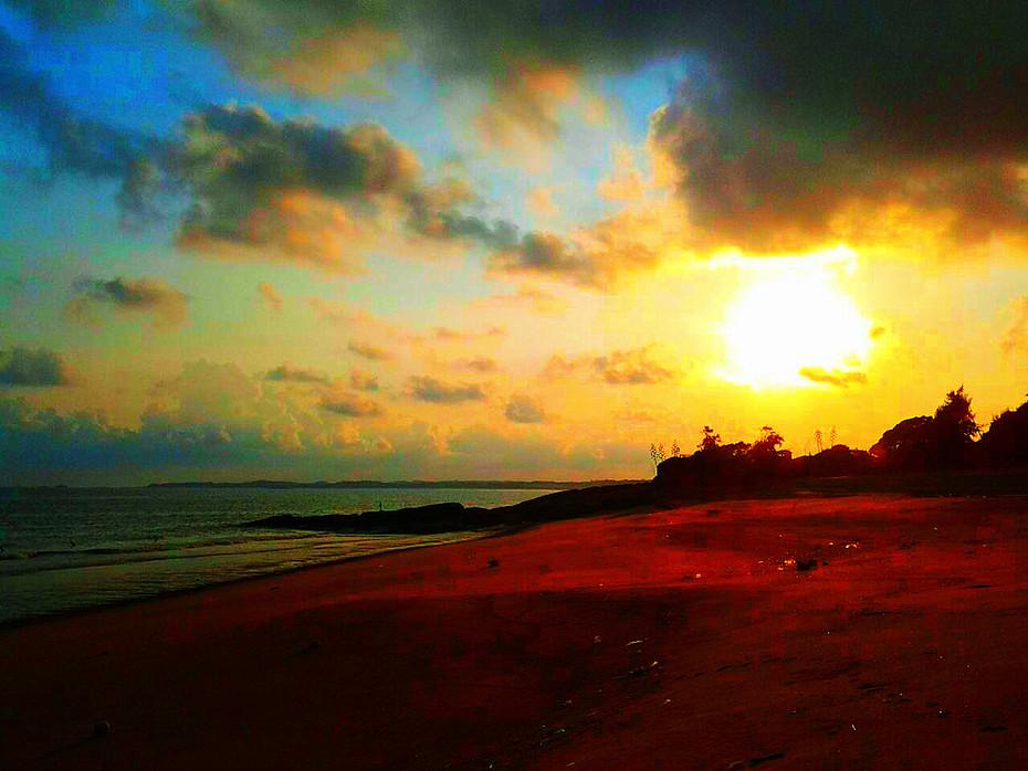 Agnes Chong:夕陽