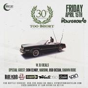 Too Short W. DJ Deals 30th Annaversary Show