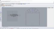 Dibujo CAD de estuche y pulsera en cuero