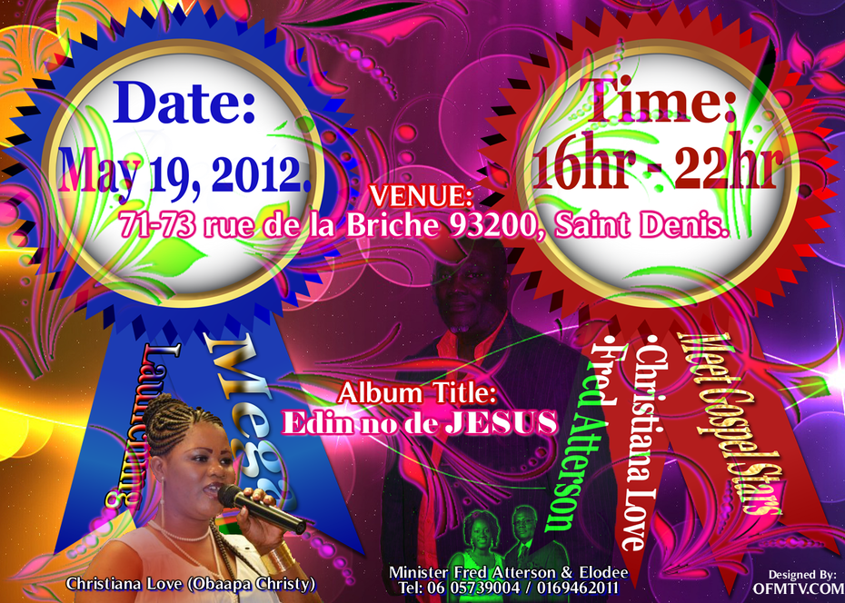 Mega Launching 2012 With Minister Fred Atterson | Christiana Love | Elodee