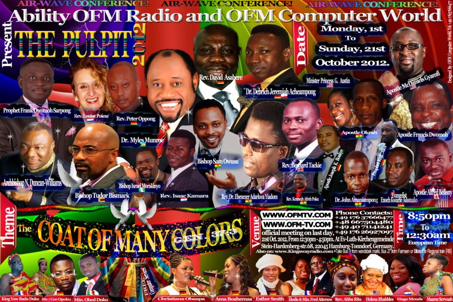 Ability OFM Radio Air Wave Conference 2012 Updated on Sept. 19, 2012.