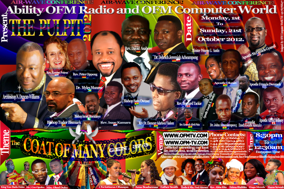 Ability OFM Radio Air Wave Conference 2012 - German Host Poster