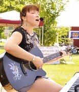 Beth Marshall Playing at Leash On Life
