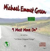 """I Must Move On"" CD Cover"