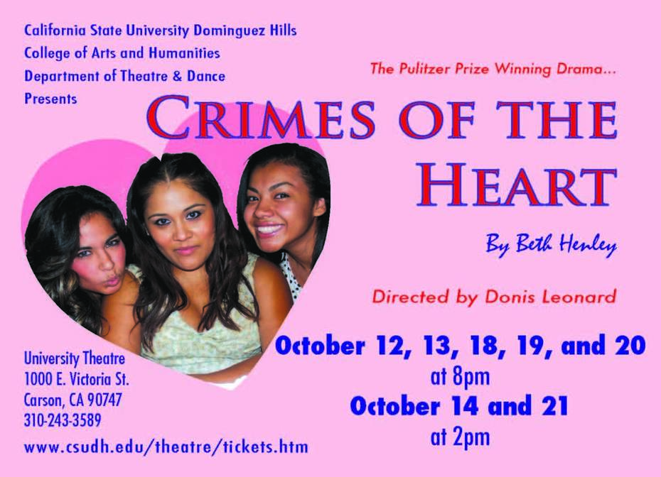 """""""Crimes of the Heart"""" at CSUDH"""