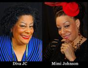 Diva JC and Mimi Johnson