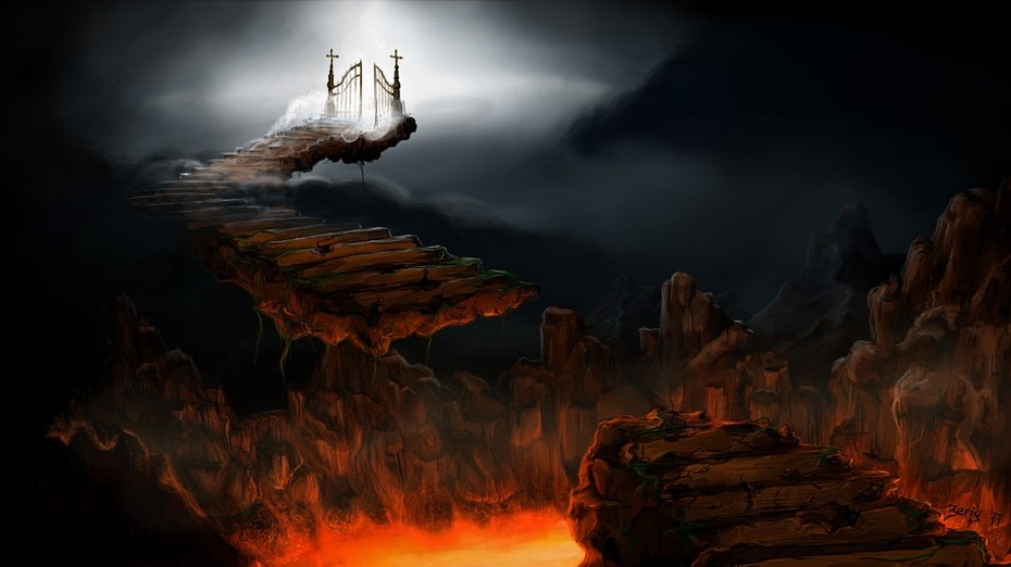 Heavan and Hell's Gates