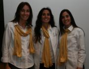 Tuty Ferrer, Laura Villa y Laura Villa