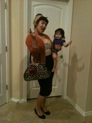 8/19/12 off to the airport, Hubby's back in town!