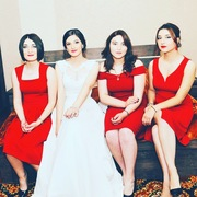 ქორწილის წითელი პატარძლები