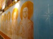 კედელი წმინდანებით