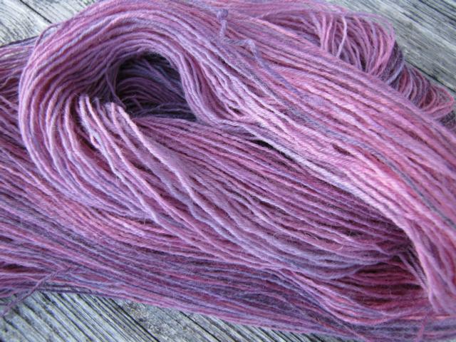 Knäuelfärbung als Stang