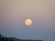 Luna y Planetas en el cielo mendocino