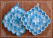 Topflappen Bavarian Stitch