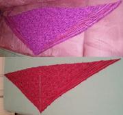 Lala-Tuch mit Seitenflügeln - frisch + gewaschen
